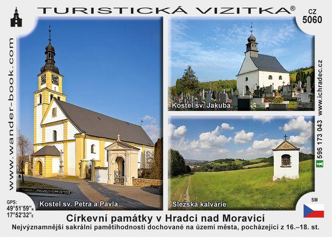 Církevní památky v Hradci nad Moravicí