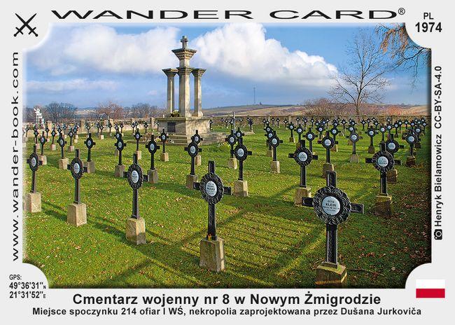 Cmentarz wojenny nr 8 – Nowy Żmigród