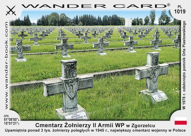 Cmentarz Żołnierzy II Armii WP