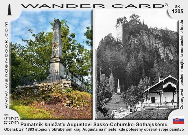 Pamätník kniežaťu Augustovi Sasko-Cobursko-Gothajskému