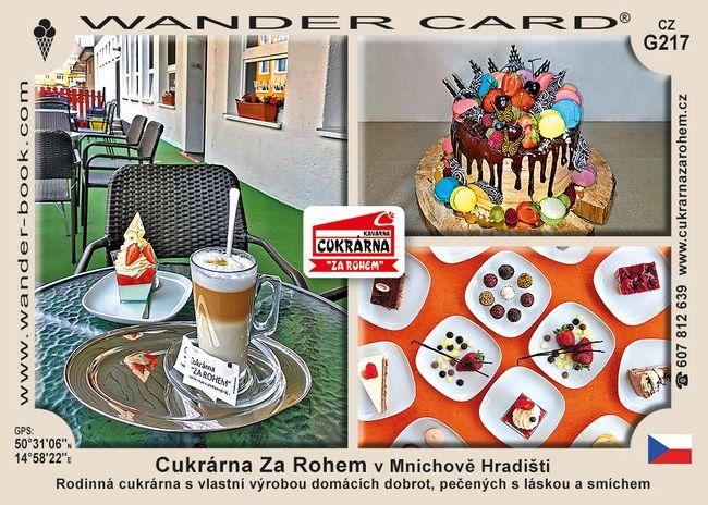 Cukrárna Za Rohem v Mnichově Hradišti