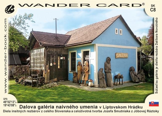 Dalova galéria naivného umenia v Liptovskom Hrádku