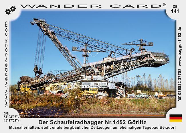Der Schaufelradbagger Nr.1452 Görlitz
