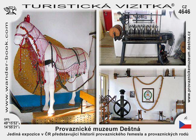 Deštná provaznické muzeum