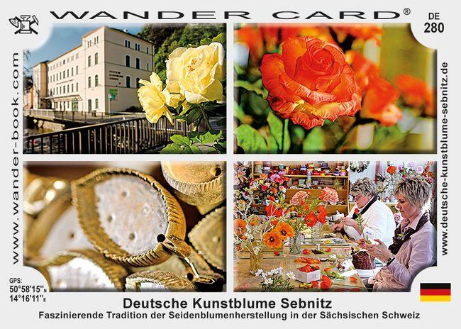 Deutsche Kunstblume Sebnitz