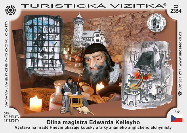 Dílna magistra Edwarda Kelleyho