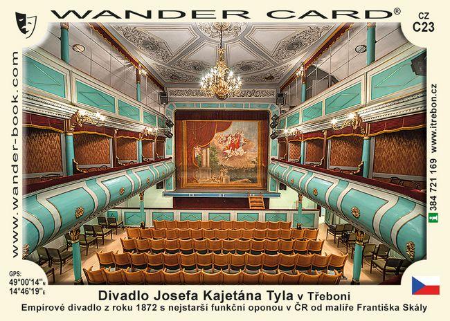 Divadlo Josefa Kajetána Tyla v Třeboni