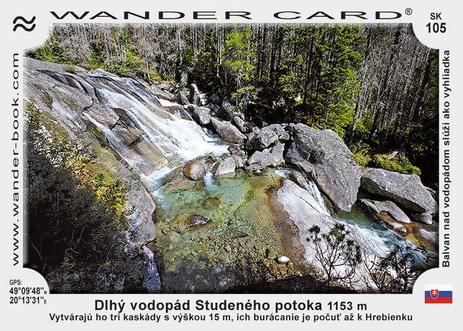 Dlhý vodopád Studeného potoka