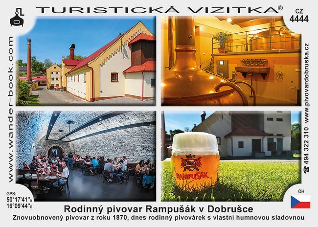 Dobruška pivovar Rampušák