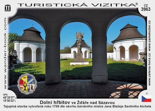 Dolní hřbitov ve Žďáře nad Sázavou