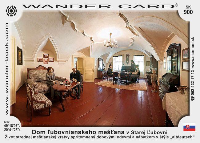 Dom ľubovnianskeho mešťana v Starej Ľubovni