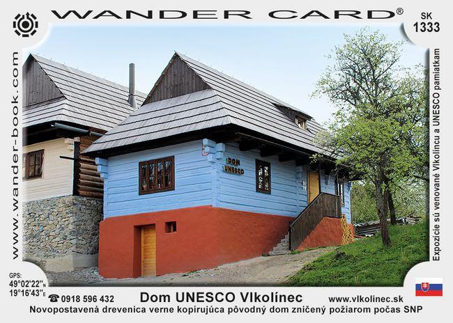 Dom UNESCO Vlkolínec
