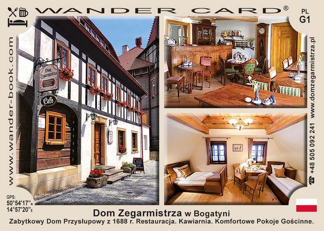 Dom Zegarmistrza w Bogatyni