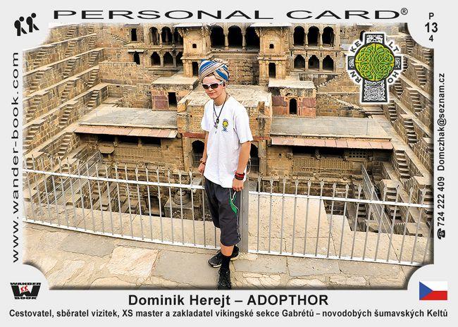 Dominik Herejt – ADOPTHOR