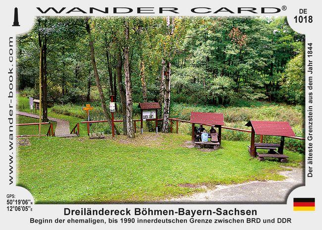 Dreiländereck Böhmen-Bayern-Sachsen