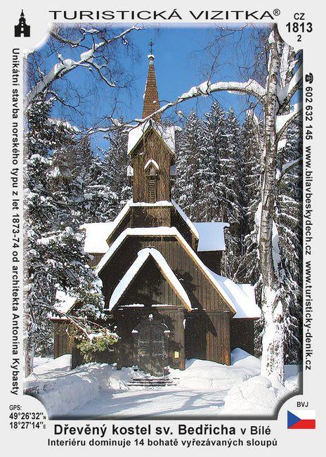 Dřev. kostel sv. Bedřicha v Bílé