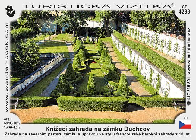 Knížecí zahrada na zámku Duchcov