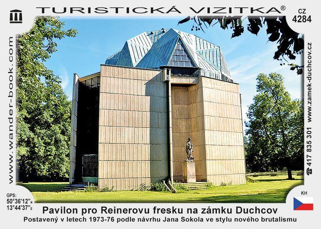 Pavilon pro Reinerovu fresku na zámku Duchcov