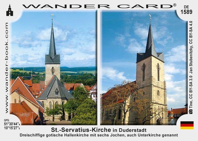 Duderstadt Servatiuskirche