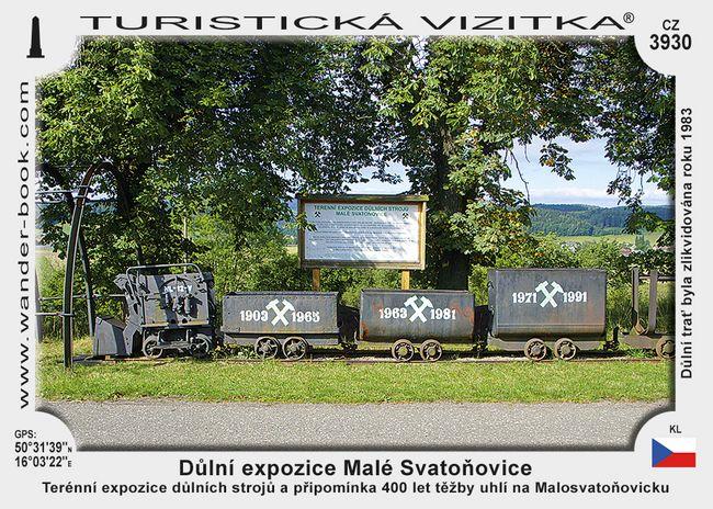 Důlní expozice Malé Svatoňovice