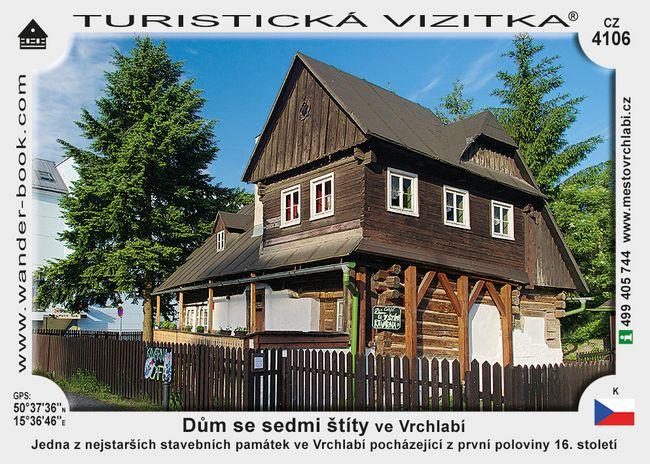Dům se sedmi štíty ve Vrchlabí