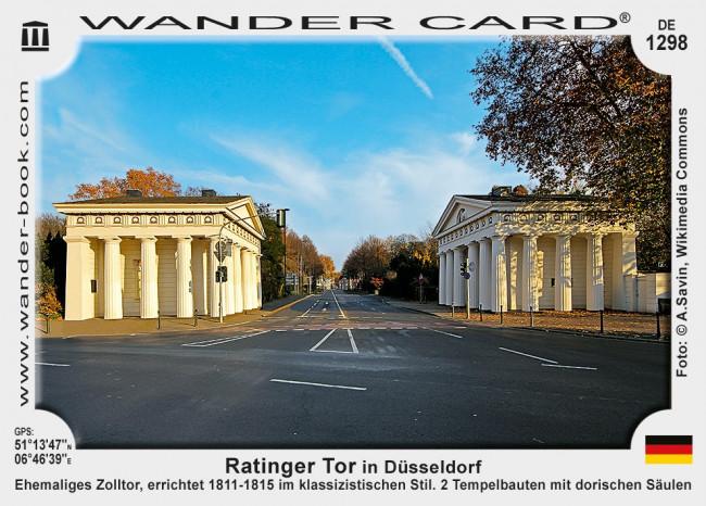 Ratinger Tor in Düsseldorf