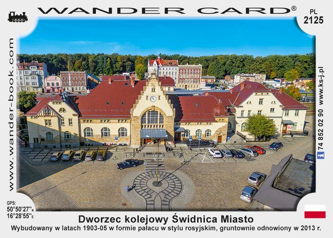 Dworzec kolejowy Świdnica Miasto