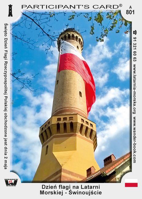 Dzień flagi na Latarni Morskiej - Świnoujście
