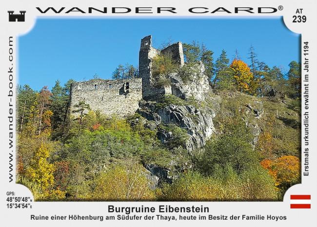 Eibenstein Burgruine
