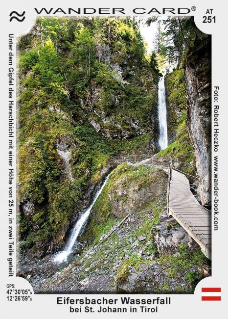 Eifersbacher Wasserfall bei St. Johann in Tirol