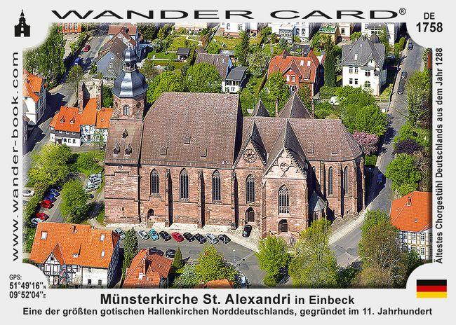 Münsterkirche St. Alexandri in Einbeck