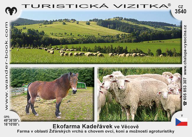 Ekofarma Kadeřávek ve Věcově