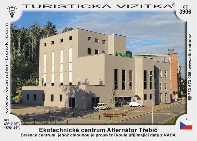 Ekotechnické centrum Alternátor Třebíč