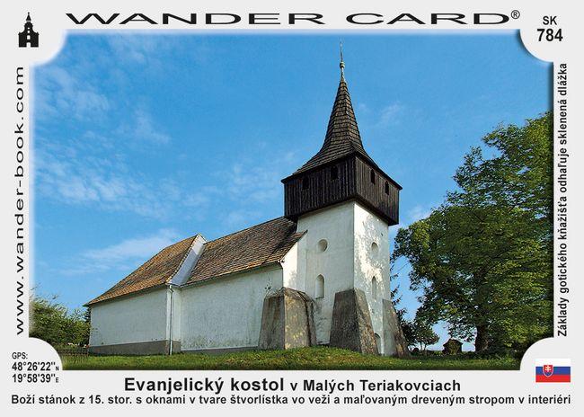 Evanjelický kostol v Malých Teriakovciach
