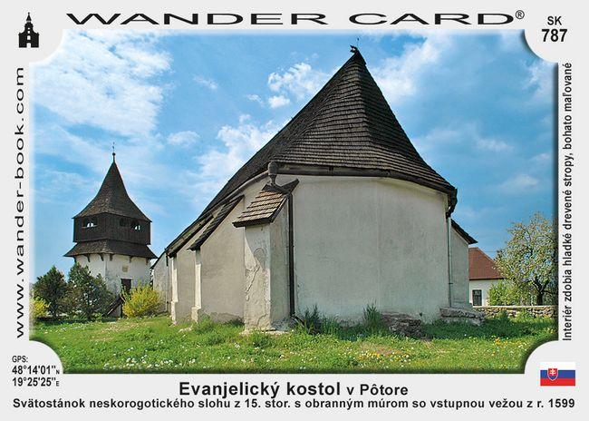 Evanjelický kostol v Potore