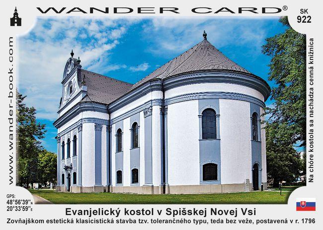 Evanjelický kostol v Spišskej Novej Vsi
