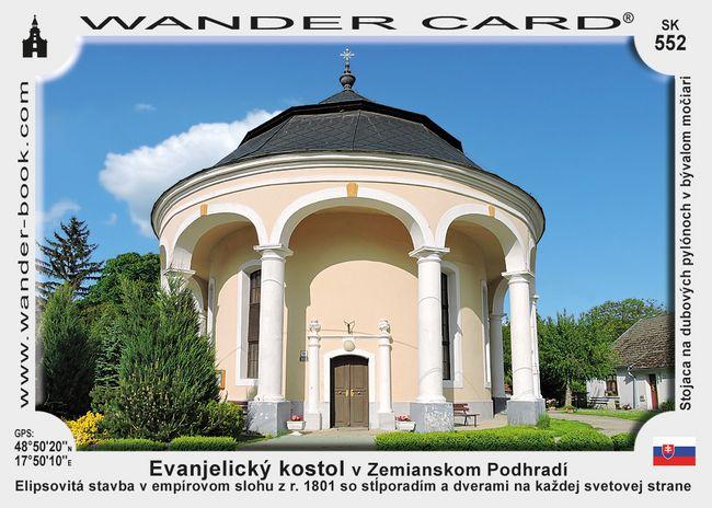 Evanjelický kostol v Zemianskom Podhradí