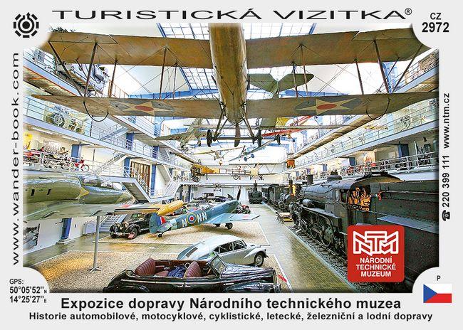 Expozice dopravy Národního tech. muzea
