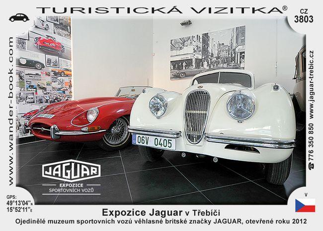 Expozice Jaguar v Třebíči