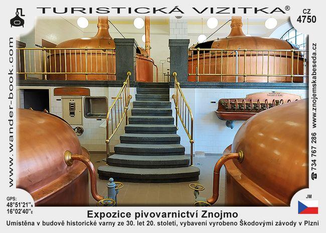 Expozice pivovarnictví Znojmo