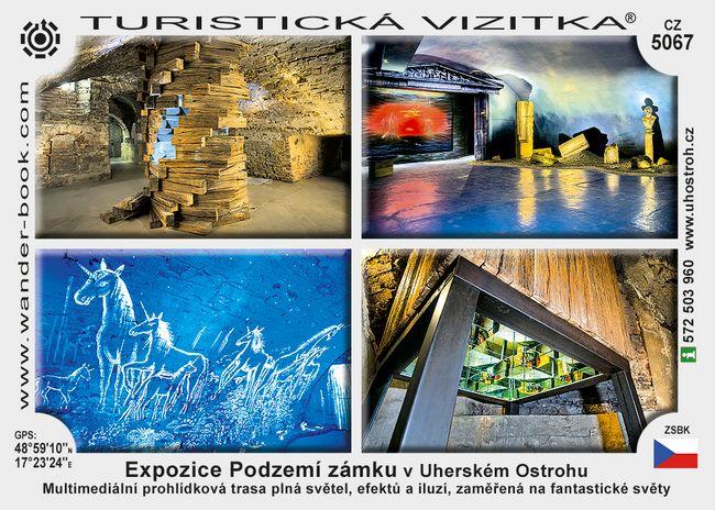 Expozice Podzemí zámku v Uherském Ostrohu
