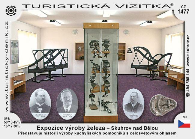 Expozice výroby železa Skuhrov n. Bělou