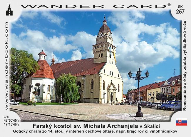 Farský kostol sv. Michala Archanjela v Skalici