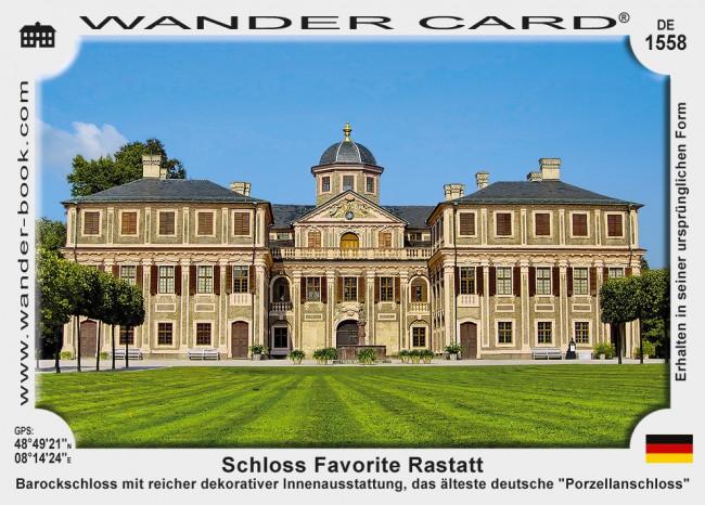 Favorite Rastatt Schloss