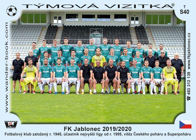 FK Jablonec 2019/2020