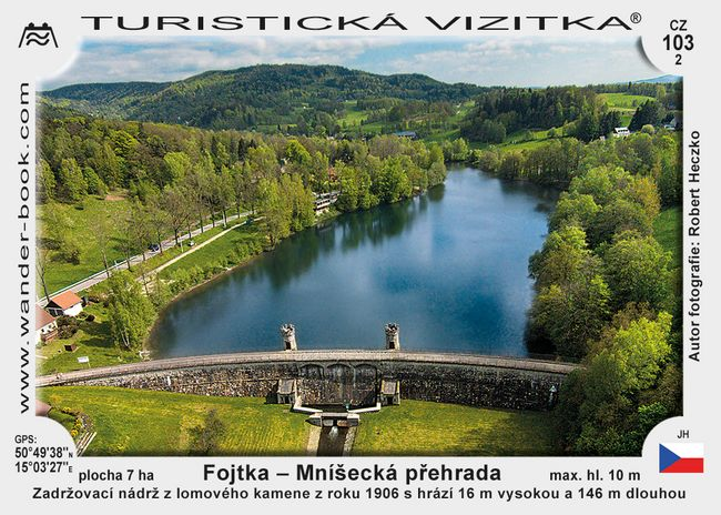 Fojtka – Mníšecká přehrada