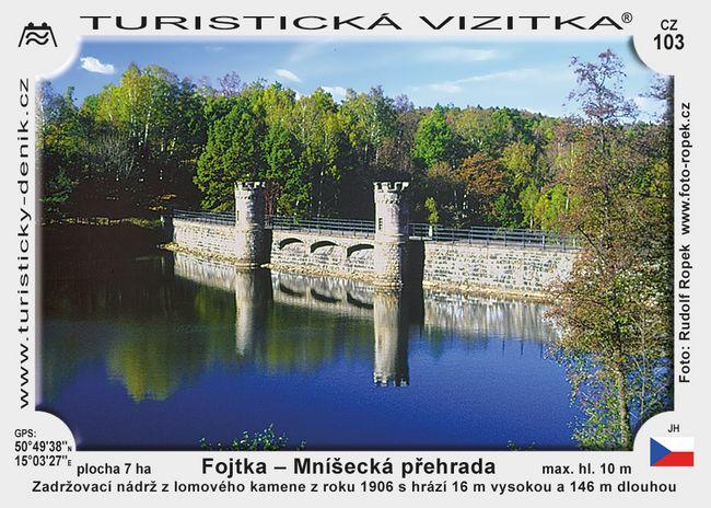 Fojtka - Mníšecká přehrada