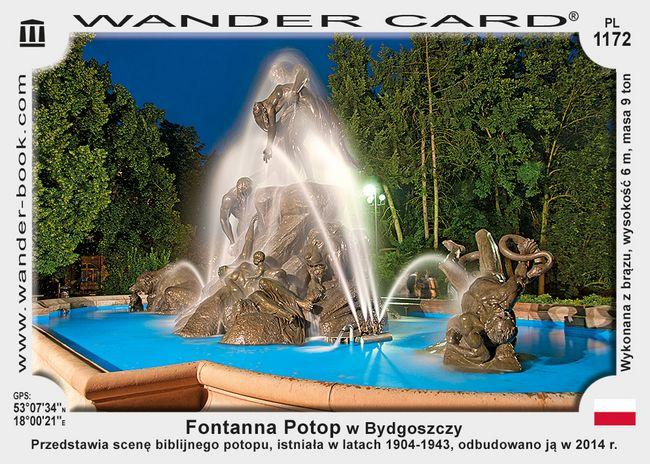 Fontanna Potop w Bydgoszczy