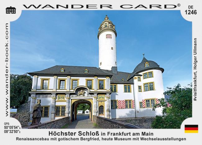 Höchster Schloß in Frankfurt am Main