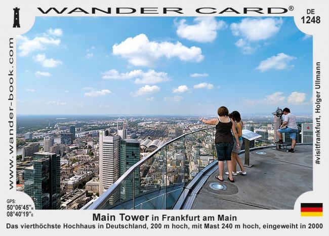 Main Tower in Frankfurt am Main